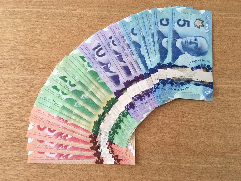 カナダドル 紙幣
