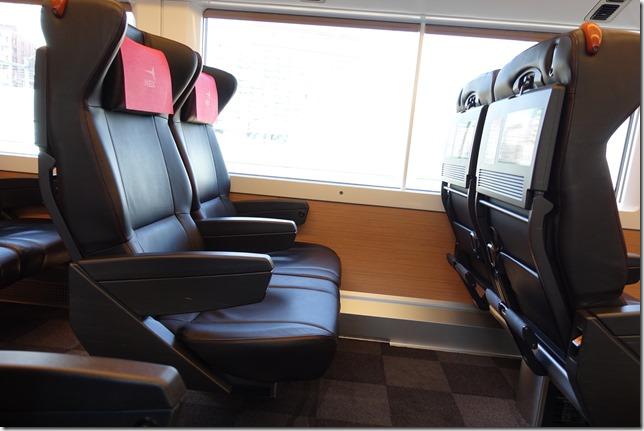 成田エクスプレスを格安料金で利用する。普通車とグリーン車の違い。