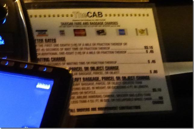 The CABのクレジットカードマーク
