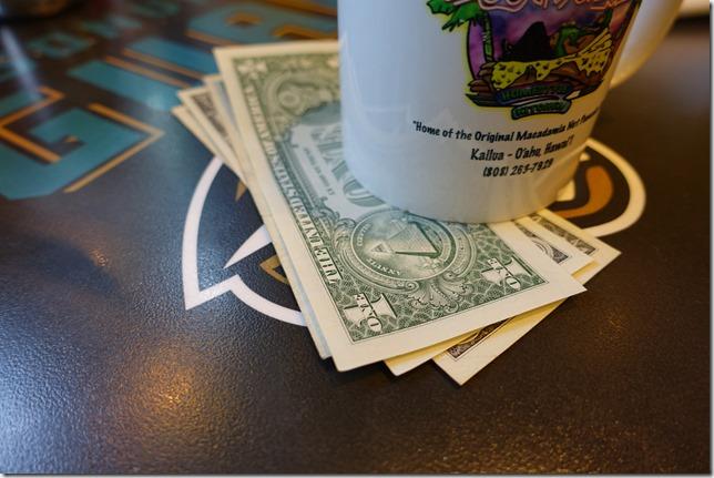 ハワイでのチップ相場と渡し方。クレジットカードでの支払方法。