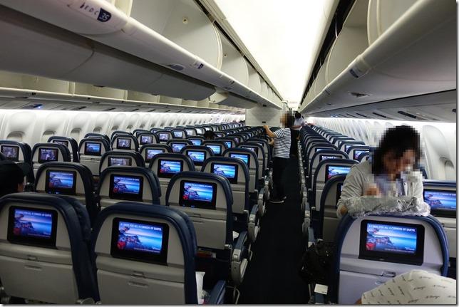 デルタ航空 国際線エコノミークラス搭乗レビュー。成田→ホノルル直行便。