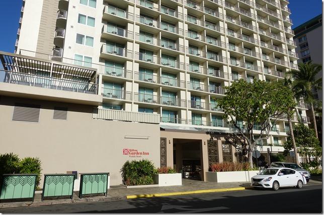 Hilton Garden Inn Waikiki Beach(ヒルトン・ガーデン・イン・ワイキキ・ビーチ)宿泊レビュー