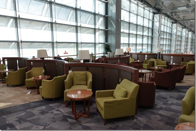チャンギ空港ターミナル3「dnata Lounge(ディナタ・ラウンジ)」レビュー。