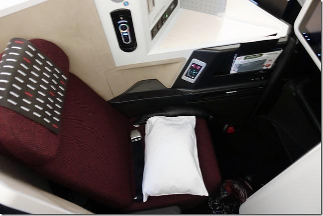 JALビジネスクラス座席