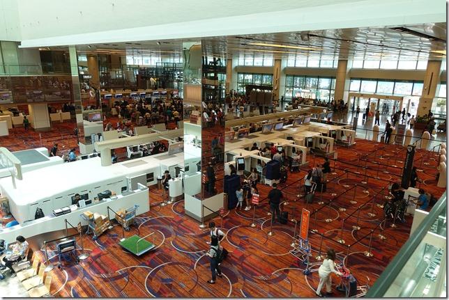 シンガポール空港アーリーチェックインの方法