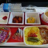 JALメルボルン機内食