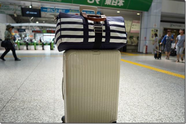 沖縄旅行の荷物