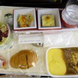 JALハワイ便機内食