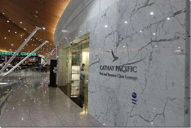 クアラルンプール空港キャセイパシフィック航空ラウンジ外観