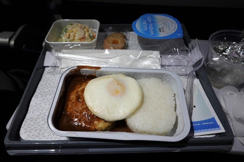 ハワイアン航空の機内食