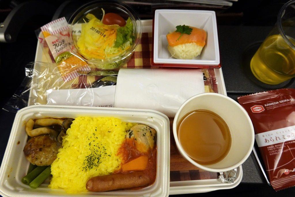 JAL香港便機内食