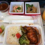 JAL台北エコノミークラス機内食