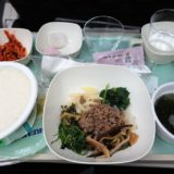 大韓航空機内食(ホノルル便)