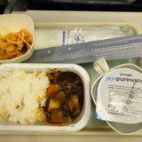 大韓航空機内食(インチョン)