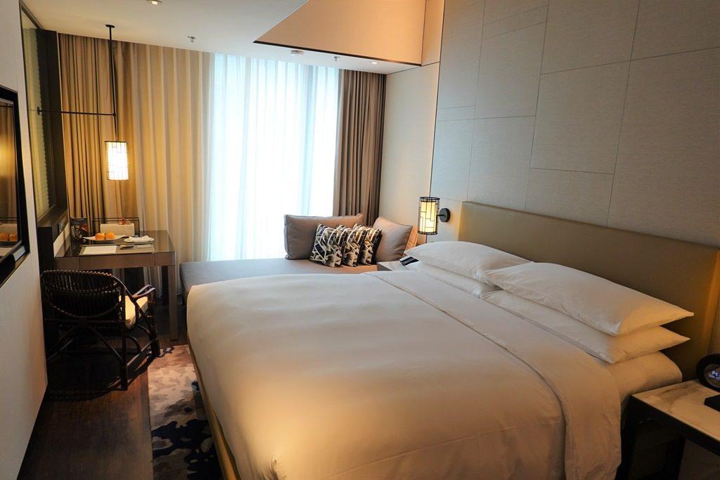 ルネッサンス台北士林ホテルの客室
