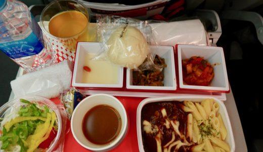 JAL国際線 東京成田⇔タイ バンコク エコノミークラス(B787-8)搭乗レビュー
