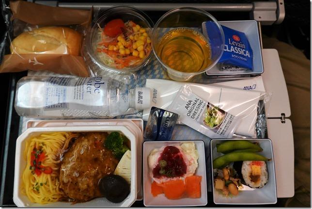 ANAバンコク便機内食