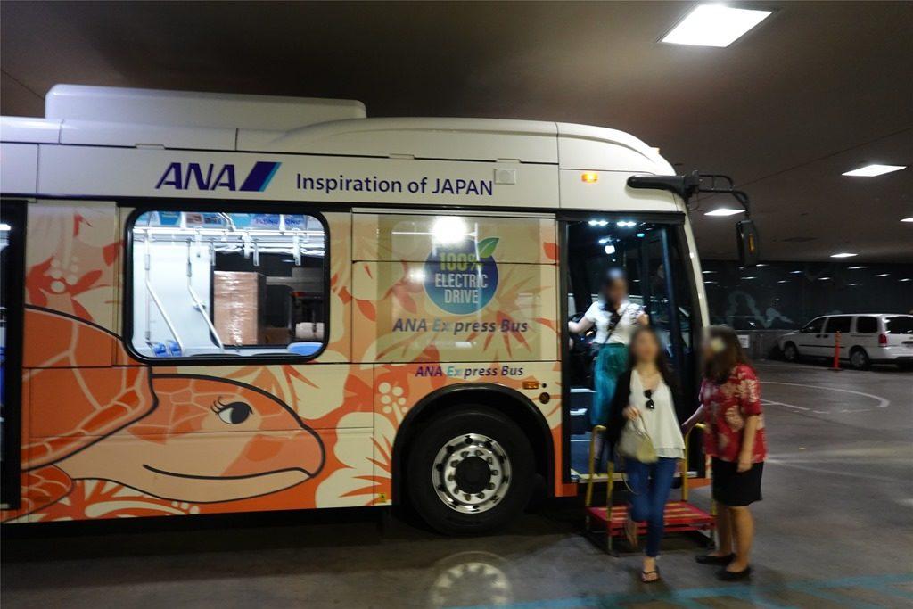ハワイANAエクスプレスバス