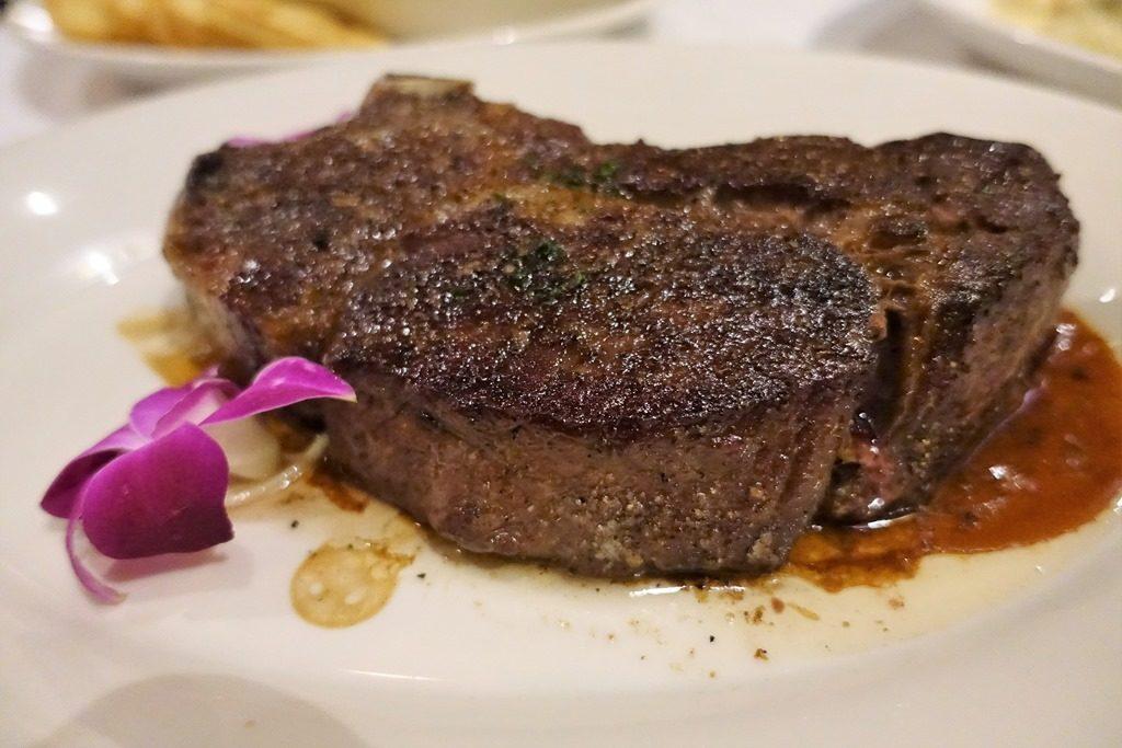 DKステーキハウスの熟成肉