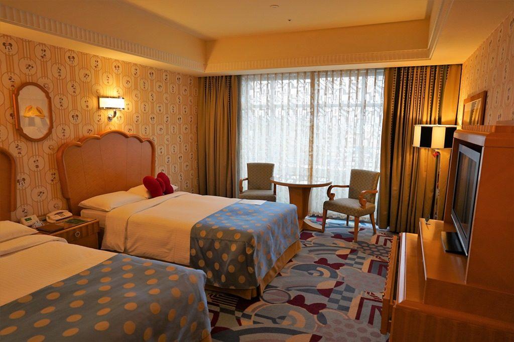 ディズニーアンバサダーホテルの客室