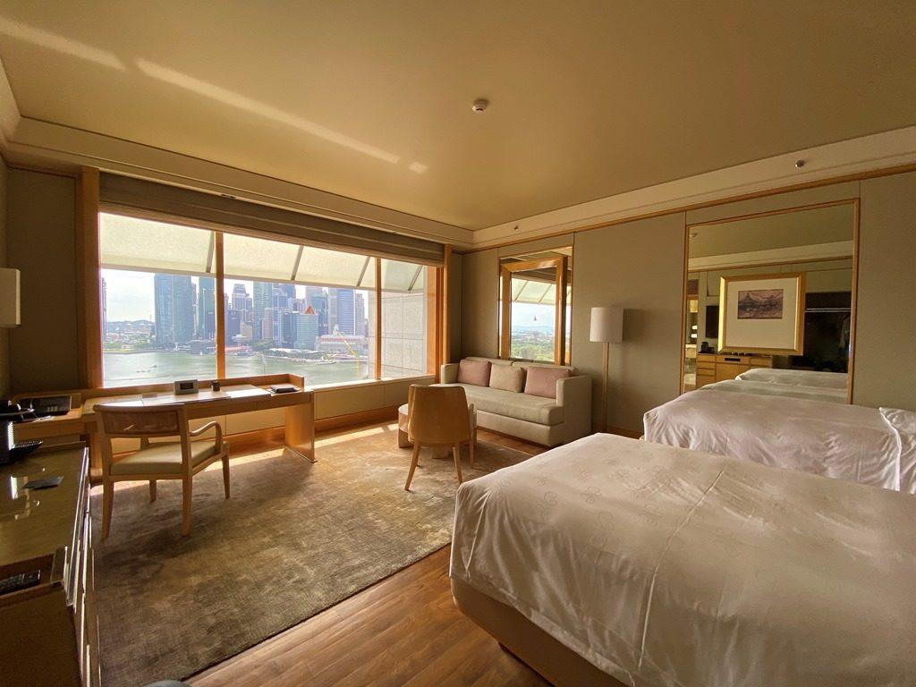 リッツカールトンシンガポール客室