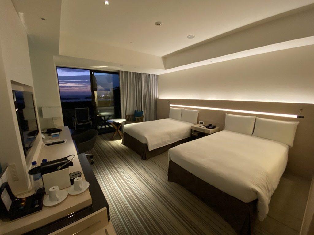 ヒルトン沖縄北谷リゾートの客室