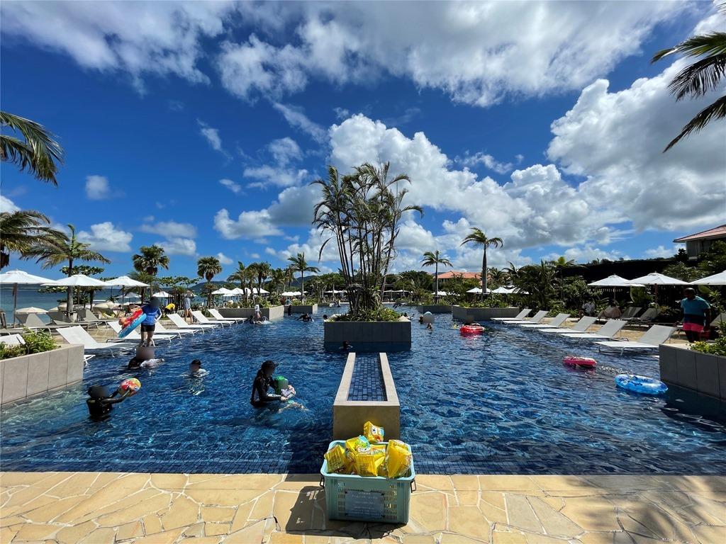 フサキビーチリゾートプールの評判
