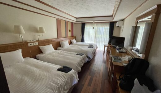 フサキビーチリゾート ホテル&ヴィラズ宿泊レビュー。おすすめの部屋と宿泊料金の違い。